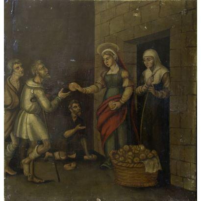 Pintura del siglo XIX. Escuela Española, circa 1800.