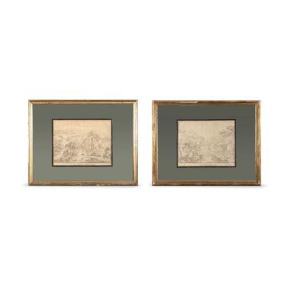 Obra Gráfica. ANTONIO BASOLI ( Castel Guelfo, 1774- Bolonia, 1848)