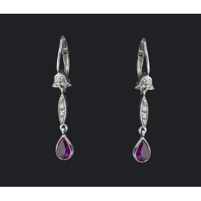 Long earrings