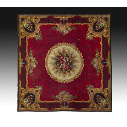 Carlos IV style rug.