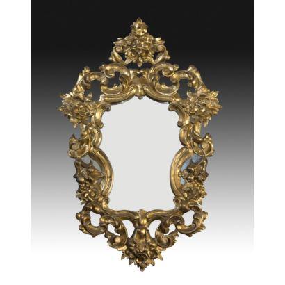 Espejos y marcos. Cornucopia, SS. XIX - XX.