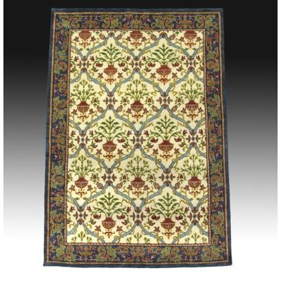 Spanish carpet with design type Cuenca, S. XX.