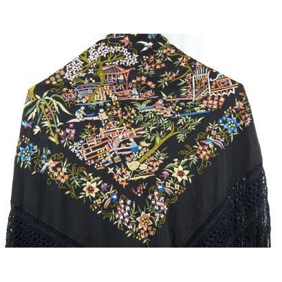 Manila shawl.