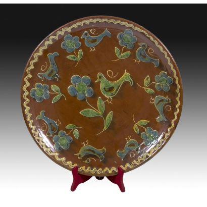 Decorative plate, Cuenca, S. XX.