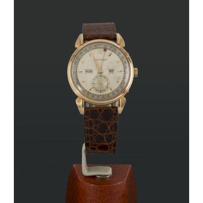 Reloj Movado en oro, años 50.