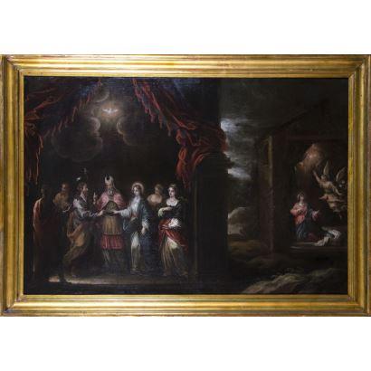 Pintura de Alta Época. Francisco Antolinez y Sarabia (Sevilla, h. 1645-h. 1700)