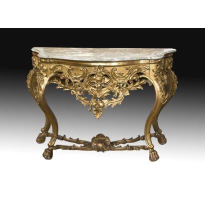 Muebles. Consola Carlos III.
