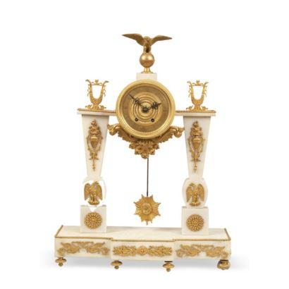 Relojes. Reloj de sobremesa, Francia, siglo XIX.