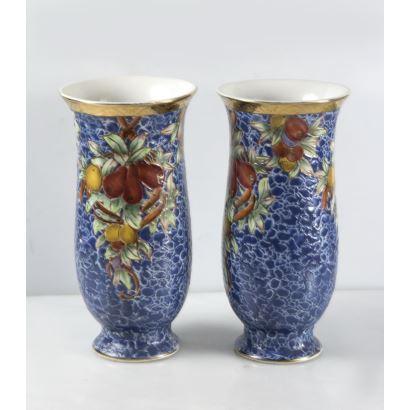 Pair of vases, pps. XX.