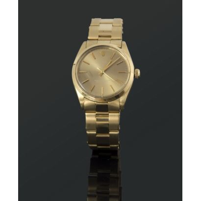 Rolex RF 14208 watch in gold.