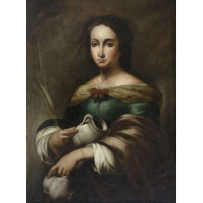 Pintura de Alta Época. Escuela Española, S.XVIII.