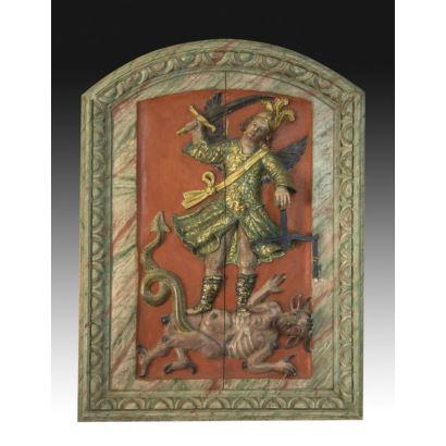 Polychrome relief, ss. XVIII-XIX.