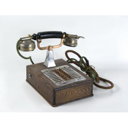 Teléfono de intercomunicación, 1908-1910.