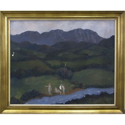 20th century painting. ESCUELA ESPAÑOLA, S. XX