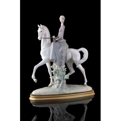Lladro porcelain figurine.