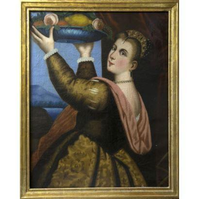 Siguiendo modelos de Tiziano.