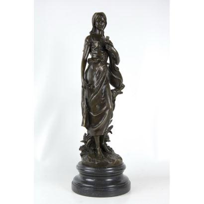 According to Hippolyte Moreau's model (Dijon, 1832 - Neuilly-sur-Seine, 1927).