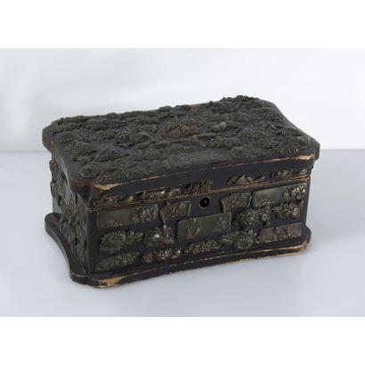 Japanese box, S. XX.