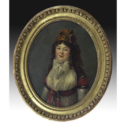 Atribuido a Zacarías González Velázquez (Madrid, 1763-1834).