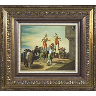 Siguiendo modelos de Goya, S. XX.