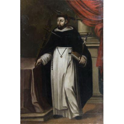 Spanish School, late S. XVII. Follower of Francisco ZURBARÁN (Badajoz, 1598 - Madrid, 1664).