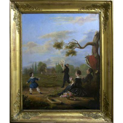 Pintura del siglo XIX. Escuela inglesa, fin. S. XIX- ppios. S. XX.