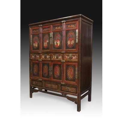 Cabinet o armario Chino, pps. XX.