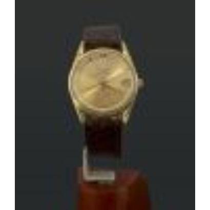 Reloj Universal suizo en oro, años 60.