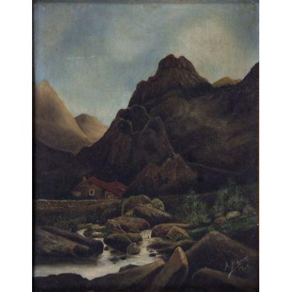 20th century painting. European School, pps. XX.