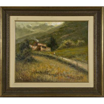 Pintura del siglo XX. ENRIC BELTRÁN MESSA (Valencia, 1940 – 2006)