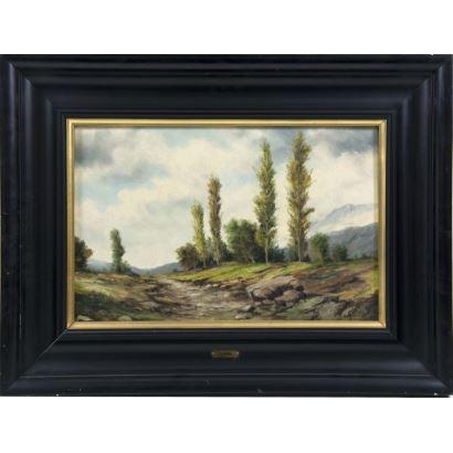Pintura del siglo XIX. CARAL (Activo en Cataluña, fns. S. XIX)