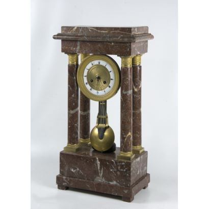 Table clock Imperio, S. XIX.