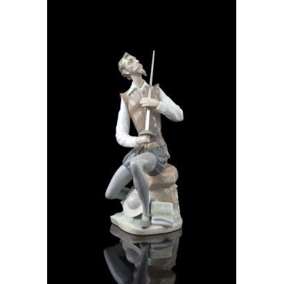 Porcelain figure of Lladró, S. XX.