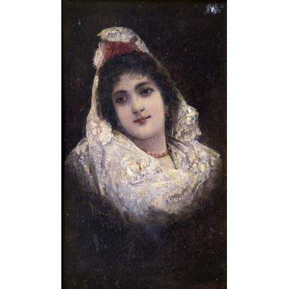 INÉS FLOREZ I FONVIELLE (Paris, c. 1865 - Palma de Mallorca, 1935).