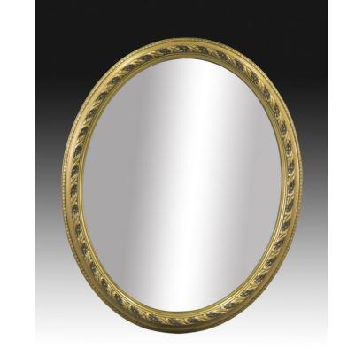 Espejo oval estilo Luis XVI, S. XX.