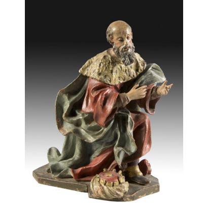 Esculturas. Atribuido a los Hermanos García (Granada, S. XVII).