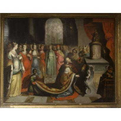 Pintura de Alta Época. Escuela flamenca, ppios. S. XVII