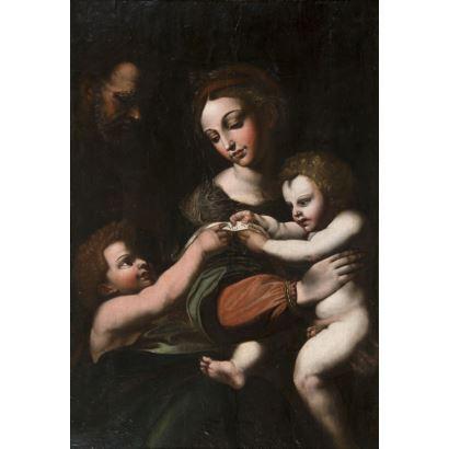 Siguiendo modelos de RAFAEL (Urbino, 1483 - 1520)