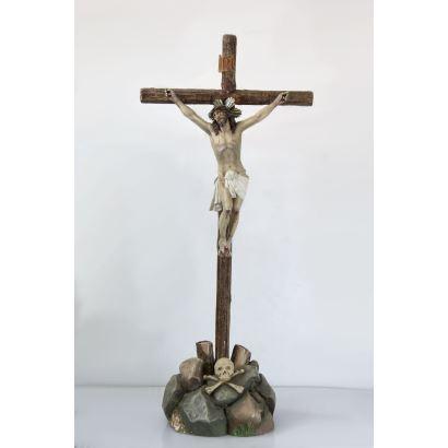 Cristo Crucificado, Olot S. XIX.