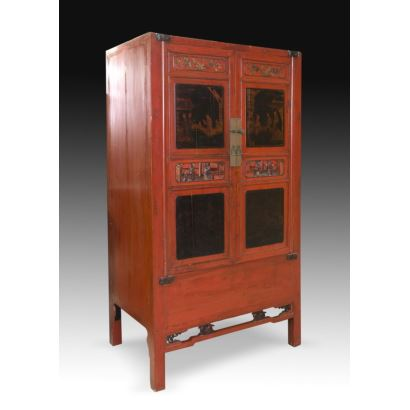 Muebles. Armario oriental, S. XX.