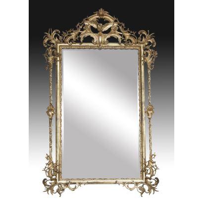 Isabelino mirror, 19th century.