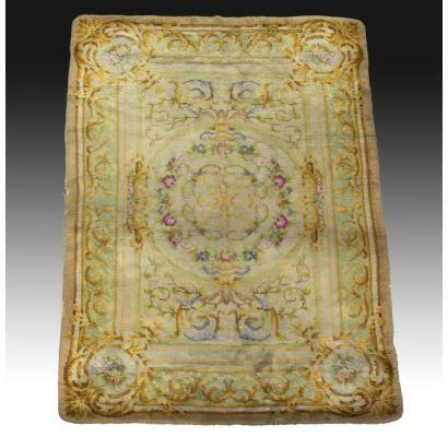 Spanish carpet, Savonnerie style.