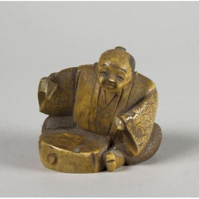Netsuke oriental, ppios. S. XX.