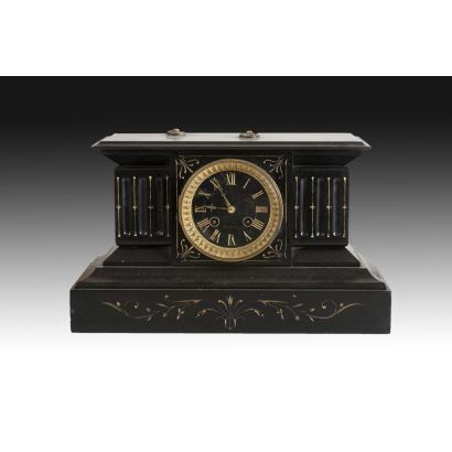 French table clock, early S. XX.