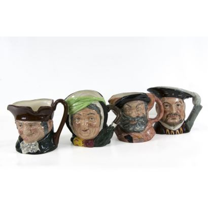 Set of 4 jugs Royal Doulton, S. XX.