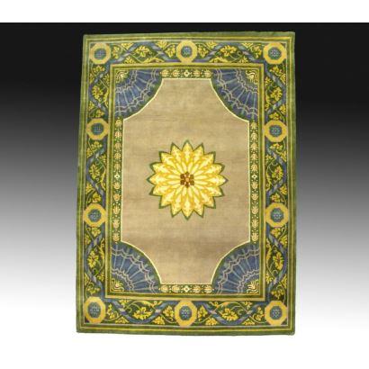 Carpet style Carlos IV, S. XX.