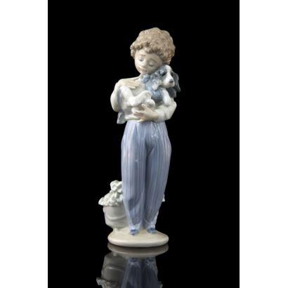 Figura en porcelana de Lladró, S. XX.