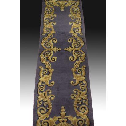 Spanish hall carpet.