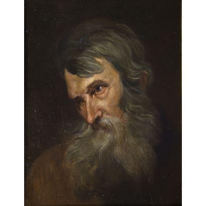 Pintura de Alta Época. Siguiendo modelos de José de Ribera (Valencia, 1591 - Nápoles, 1652)
