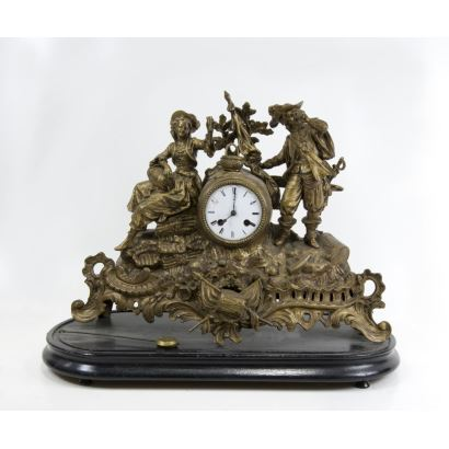 Relojes. Reloj de sobremesa, S. XIX.
